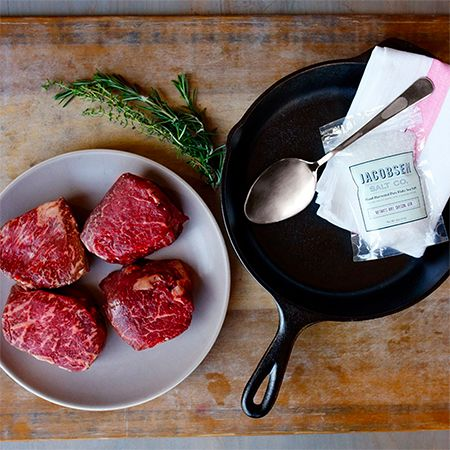 Hugh Acheson and Snake River Farms Steak Gift