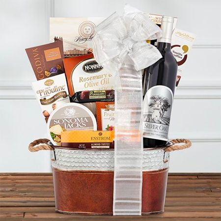 Silver Oak Alexander Valley Wine Gift Basket
