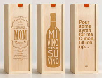 Custom Wood Wine Boxes