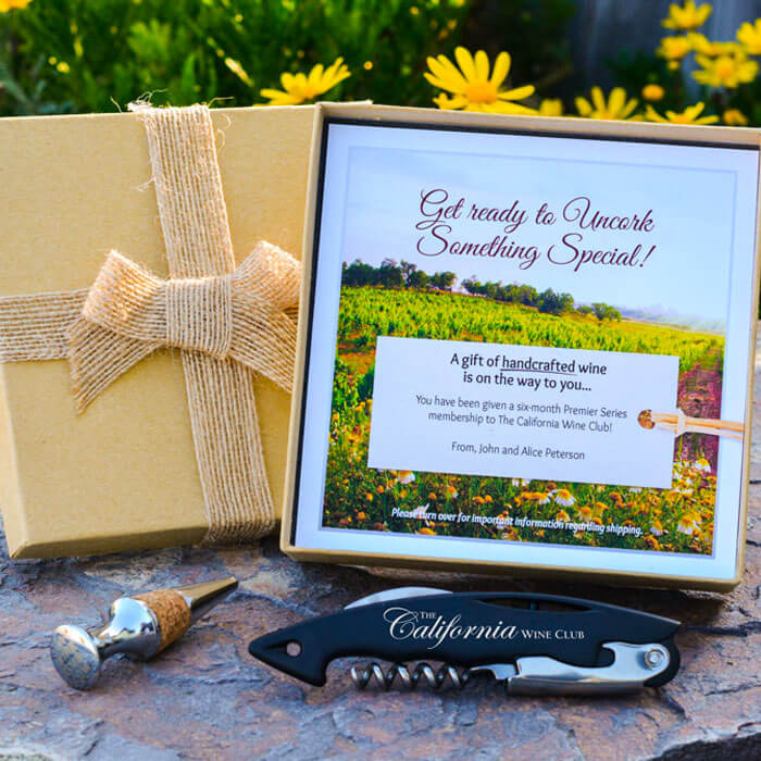 The California Wine Club Gift Presentation