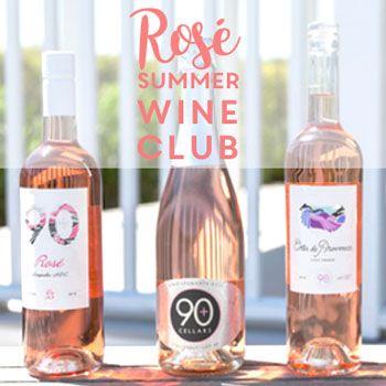 90+ Cellars Rosé Wine Club