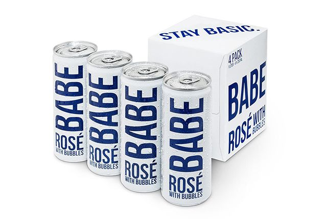 Babe Sparkling Rosé in a Can